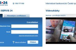 Česká spořitelna vstup na účet servis24 vs George. Porovnání obou služeb.