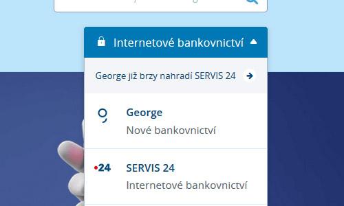 výsuvné menu na csas.cz