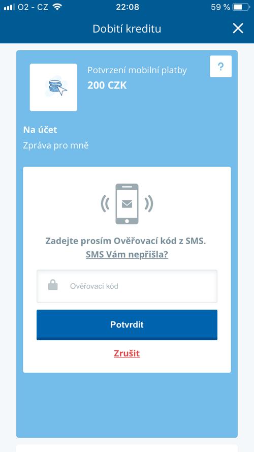 Přihlášení do bankovnictví z mobilu bez instalace aplikace George