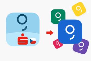 Jak změnit nudnou ikonku mobilní aplikace George?