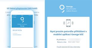 Jak se přihlásit na george.csas.cz s aplikací George klíč